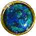 Azurite Groomsmen Gift Button Cover
