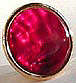 Raspberry Paua Groomsmen Gift Button Cover